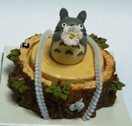 SOLD - Figure - Stamp & Container - congratulations - Totoro - Ghibli -out of production (new)