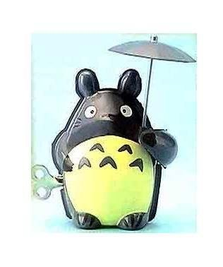 SOLD -15%OFF- Tin Toy - Move Forward & Move Umbrella - Totoro - Ghibli - out of production (new)