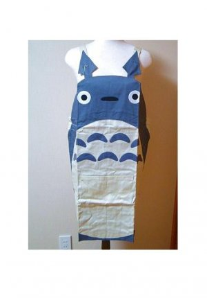 SOLD - Kid's Apron - 125-135cm - Front Pocket - Totoro - Ghibli - out of production (new)