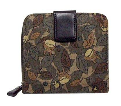 SOLD - Wallet - Vegetable Tanned Leather - Kipskin - Totoro - Ghibli - out of production(new)