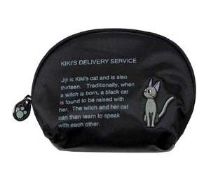 1 left - Pouch- Jiji Embroidered -round-english- Kiki's Delivery Service -outproduction(new)