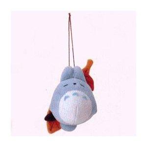 2 left - Mascot - Strap Holder - Chu Totoro Sleeping on Leaf - Sun Arrow - no production (new)