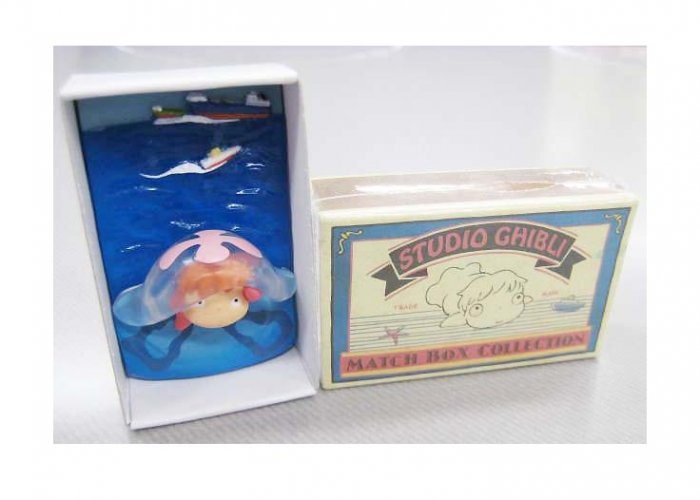 9 left - Mini Display in Matchbox - Gake no Ue no Ponyo - Ghibli - 2008 - no production (new)