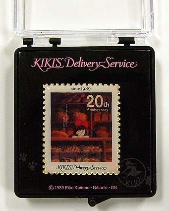 Pin Badge in Case - 20th Anniversary - Jiji - Kiki's Delivery Service -2009- no production (new