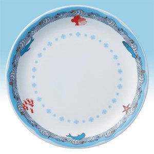 Plate 27cm - Noritake - Bone China - made in Japan - Ponyo - Ghibli - 2009 (new)