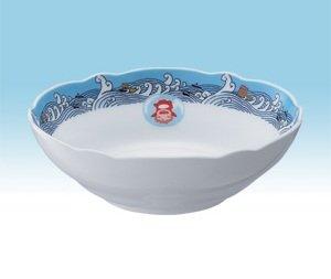 Bowl 14cm - Noritake - Bone China - made in Japan - Ponyo - Ghibli - 2009 (new)