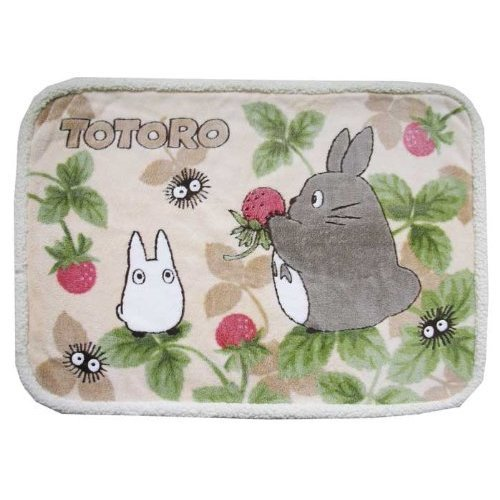 Blanket (S) - 70x100cm - Polyester & Microfiber - Totoro & Sho - noichigo - Ghibli - 2009 (new)