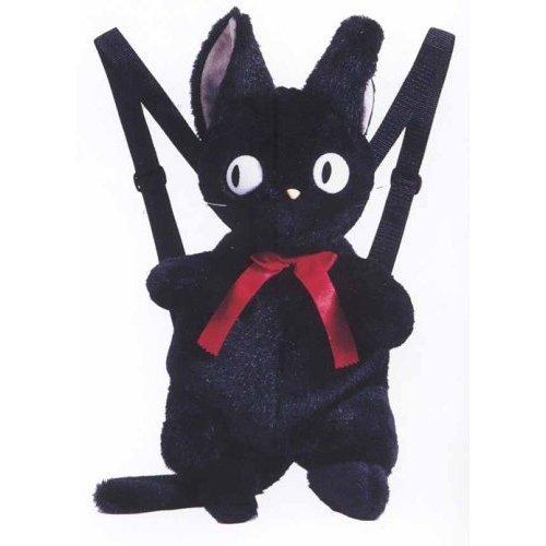 SOLD - 20%OFF - Backpack Bag - H50cm - Plush Doll - Jiji - Kiki's Delivery Service - Ghibli (new)
