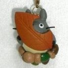 Strap Holder - Leaf & Acorn - Autumn - Totoro - Ghibli - 2009 - no production (new)