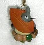 Strap Holder - Leaf & Acorn - Autumn - Totoro - Ghibli - 2009 - no production (new)