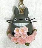 Strap Holder - Cherry Blossom / Sakura - spring - Totoro - Ghibli - 2009 - no production (new)