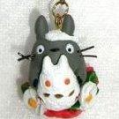 Strap Holder - Snow Totoro / Yukinko & Camellia - Winter - Totoro - Ghibli - 2009 - no production (new)