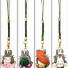 4 Strap Holder Set - each $14.5 - spring & summer & autumn & winter - Totoro - 2009 - no production (new)