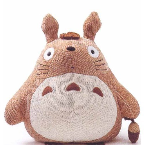SOLD - Knit Plush Doll - Totoro - Ghibli - out of production - RARE (new)