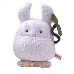 SOLD - Knit Plush Doll - Sho Totoro - Ghibli - out of production - RARE (new)