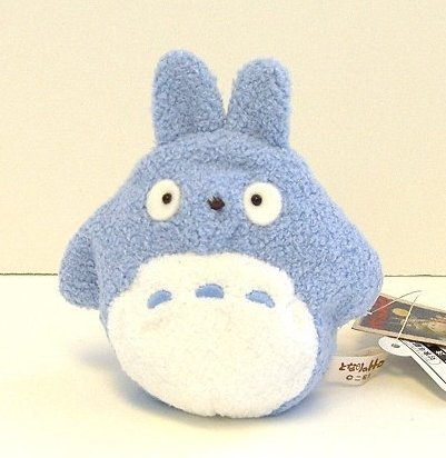 2 left - Beanbags / Otedama - H10.5cm - Chu Totoro - Ghibli - Sun Arrow - no production (new)