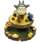 1 left- Figure -carrousel turn around- Totoro & Chu & Sho Totoro & Kurosuke -2009-no production(new)