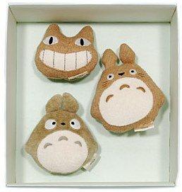 3 Whistle - Organic - Baby Gift Set - Totoro & Nekobus - Ghibli - Sun Arrow - no production (new)