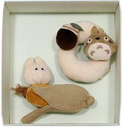 1 left - 2 Rattle - Organic - Totoro & Sho Totoro - Ghibli -  Sun Arrow - no production (new)