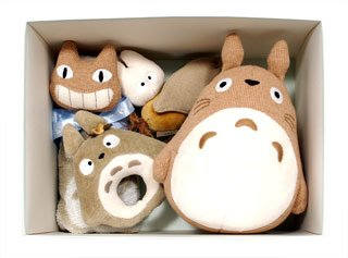 Ghibli - Totoro - Baby Gift Set - 5 items - Organic - out of production - VERY RARE (new)