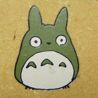 SOLD - Rubber Stamp - Totoro - Ghibli - RARE (new)