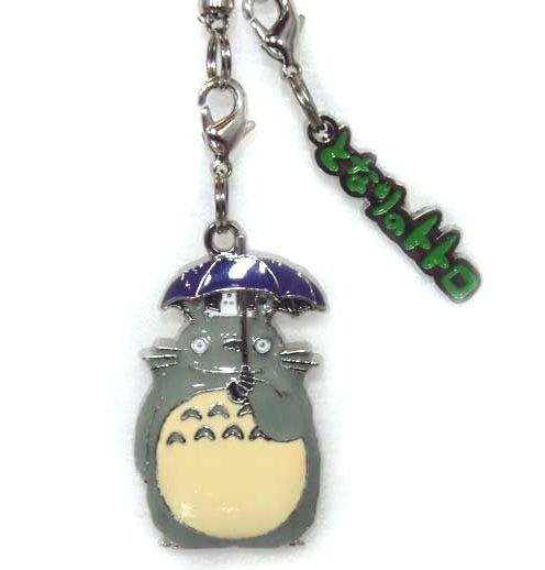 Strap Holder & Hook - Relief - Totoro & Sho Totoro & Logo - Ghibli - 2010 (new)
