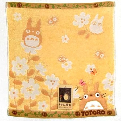 Hand Towel - Embroidery - Totoro - Ghibli - 2010 (new)