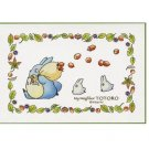 150 pieces - Mini - Jigsaw Puzzle - Chu & Sho Totoro - Ghibli - Ensky - 2010 (new)