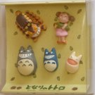 1 left- 5 Thumbtack Set - Totoro & Chu & Sho & Nekobus & Mei - Ghibli -outofproduction(new)