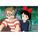 150 pieces - Mini - Jigsaw Puzzle - Kiki & Tombo - Kiki's Delivery Service - Ghibli - Ensky (new)