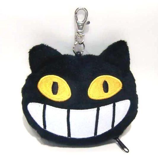 Soft Pass Case - Hook & Reel - string extends - Nekobus Face - Totoro - Ghibli - 2010 (new)