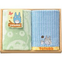 Towel Gift Set - Loop & Face Towel - Totoro - Ghibli - 2010 (new)