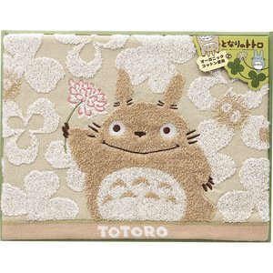 Towel Gift Set - Bath Towel - Organic - Totoro - Ghibli - 2010 (new)