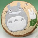 1 left - Cushion - 40x40cm - Totoro & Sho & Kurosuke - Ghibli - 2010 - no production (new)
