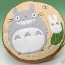 1 left - Cushion - 40x40cm - Totoro & Sho & Kurosuke - Ghibli - 2010 - no production (new)