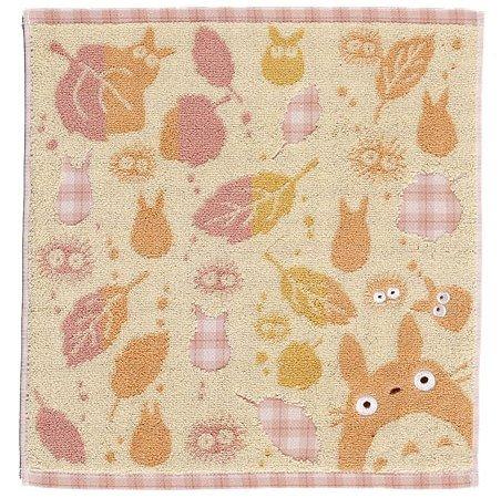 Hand Towel - asatuyu - orange - Totoro - Ghibli - 2007 (new)