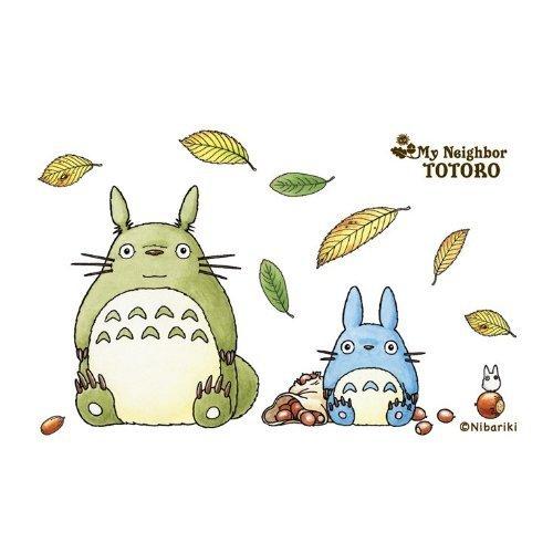 150 pieces - Mini - Jigsaw Puzzle - Totoro & Chu & Sho - acorn & leaf - Ghibli - Ensky - 2010 (new)