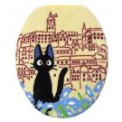 Toilet Lid Cover - regular - Jiji - yellow - Kiki's Delivery Service - Ghibli - 2010 (new)
