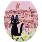 Toilet Lid Cover - regular - Jiji - pink - Kiki's Delivery Service - Ghibli - 2010 (new)