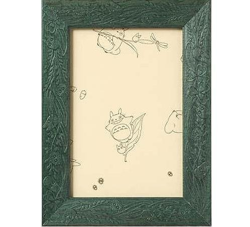 Wooden Frame for 150 pieces Jigsaw Puzzle - green - Totoro - Ghibli - Ensky (new)