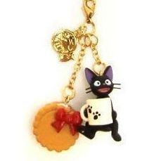Strap Holder & Hook - Jiji holding Cup & Cookie - Kiki's Delivery Service - 2010 (new)