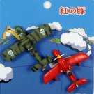 2 left - 2 Mini Magnet - 2 Planes - Porco Rosso - Ghibli - 2010 - out of production (new)