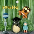 2 left - 3 Mini Magnet - Totoro & Mei & Nekobus - Ghibli - 2010 - no production (new)