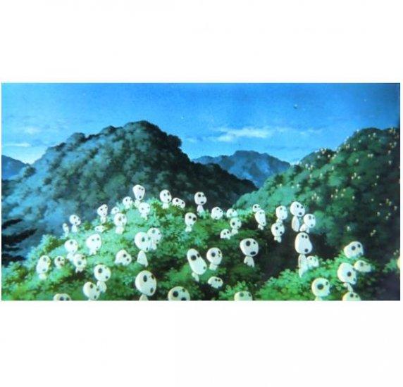SOLD - Movie Film #12 - 6 frames - Kodama - Mononoke - Ghibli (real film)
