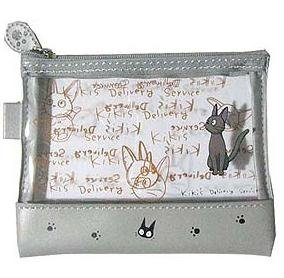 1 left - Pouch Clear - Jiji - Kiki's Delivery Service - Ghibli - out of production (new)