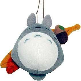 SOLD - Mascot - Totoro Sleeping on Acorn's Leaf - String - Ghibli - out of production (new)