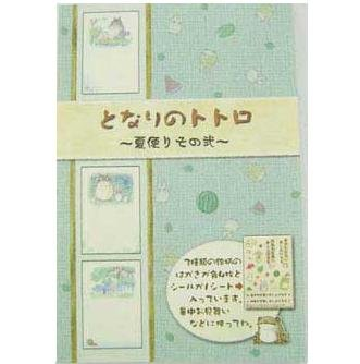 SOLD- 12 Postcards & Sticker - 3 different design-madeinJapan -Totoro - Ghibli -outproduction(new)