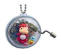 1 left - Music Box - Chain - Ponyo & Shell - Ghibli - Sekiguchi - 2009 - no production (new)