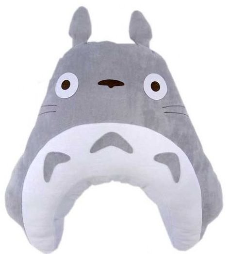Baby Pillow Cushion - Cover Washable - Pile - Totoro - Ghibli - Sun Arrow - 2010 (new)