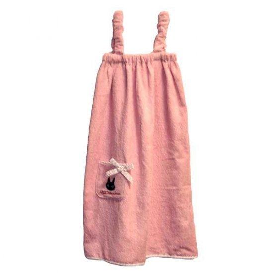 Towel Dress - 80cm - Jiji Embroidered - Pocket - Kiki's Delivery Service - Ghibli - 2010 (new)